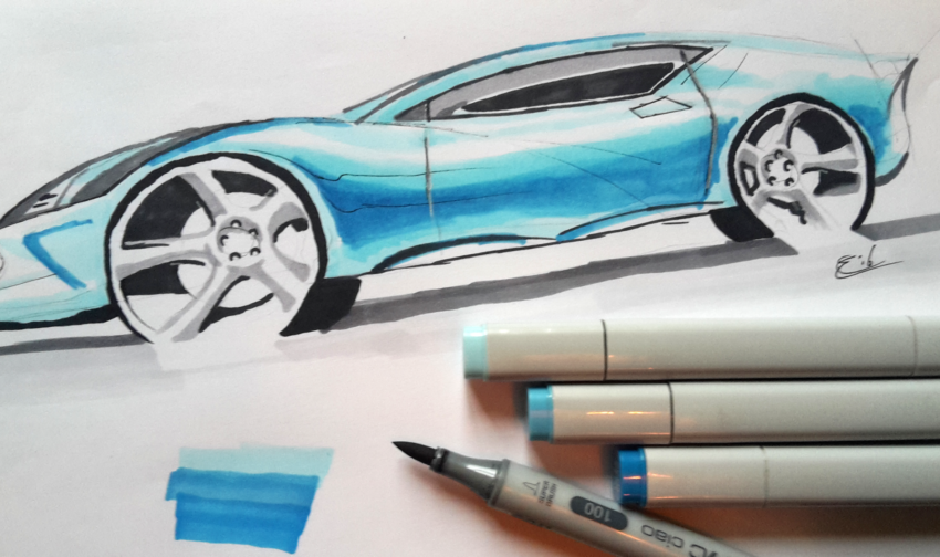 Copic Car